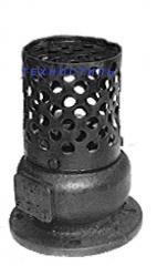 Клапан обратный  приемный 16ч42р Ду 100 Ру 2,5 МПа