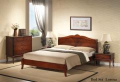Кровать из красного дерева Lorena 160х200