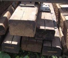 Шпалы деревянные. Скидки, Акции. Работаем по
