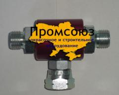 The painting equipment adapter for two hose