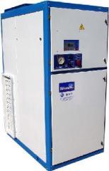 Screw stationary compressor stations of the VVU
