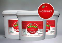 Tomato paste of 25% (Bucket of 5 kg) of 95.00 UAH.