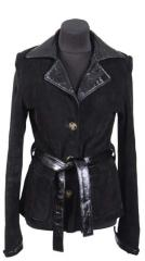 Women's jackets from genuine leather