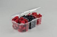 Packing for fruit, berries, vegetables plastic