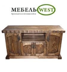 House furniture, bedside table under semi-antique