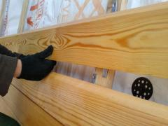 Planken from a larch