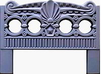 Forms an ogradok from ABS plastic. Ogradka No. 5