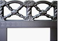 Forms an ogradok from ABS plastic. Ogradka No. 8