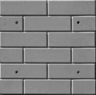 Формы для изготовления фасадной плитки. Фасад №3 Кирпич гладкий