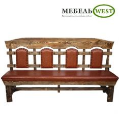 "Semi-antique benches, ""Royal sof"