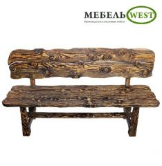 "Semi-antique benches, bench of ""Hvilk"
