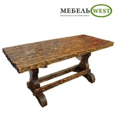 Деревянные столы под старину, мебель на заказ