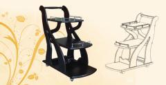 Стол сервировочный 2 Орнелла 820х800х415