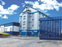 Откатные ворота для дачи, домов и промышленных