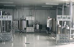 The technology line for production sheep cheese