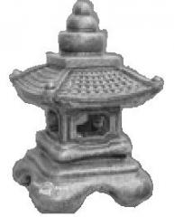 Forms fiberglass for small architecture. Form