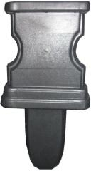 Forms fiberglass for small architecture. Shape of