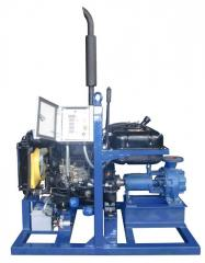 Diesel pump station
