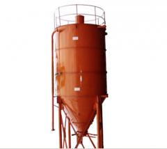 Warehouses (silos) for sand