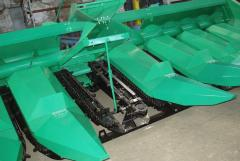 Spare parts to harvesters for cleaning of corn of