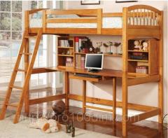 Кровать двухъярусная Модерн