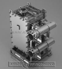 Пластинчатые теплообменники полуразборной конструкции РС 0,25-F-2K  используются в системах горячего водоснабжения при наличии в водопроводной воде солей жесткости, склонных к интенсивному отложению на поверхности нагрева