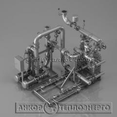 Автоматизированный индивидуальный тепловой пункт - ИТП для независимых систем отопления и горячего водоснабжения