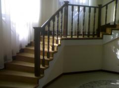 Steps wooden
