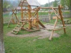Playgrounds from a tree