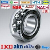 Double-row radial-stop ball bearings.