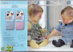 Гладкие колготки для детей, 0-2 года