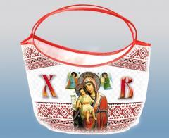 """Easter basket. Design """"Face"""""""