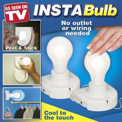 Портативные лампочки на батарейках INSTA BUIB