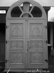 Door on the temple