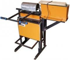 The machine for production of paving slabs