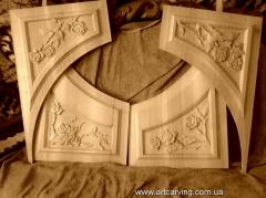 Panels - carved door cloths