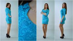 Отличное женское платье из приятной ткани
