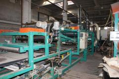 Production line sandwich panels roofing and wall