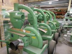 Suction, suction pressure blowers, grain and