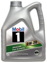 Mobil 1 0w-20 motor oil