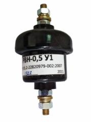 Rated sportsman valve PBH-0.5 low-voltage