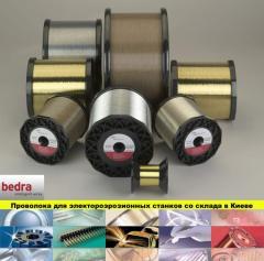 Wire brass BEDRA for electroerosive machines
