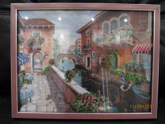 "Handwork picture ""Venice"""
