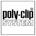 Кліпси та петлі фірми Poly-clip для