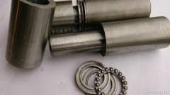 Loops fine-molded welded on the bearing