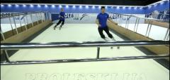 Ski simulator PROLESKI indoors - infinite slope ,
