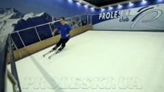 Ski simulator PROLESKI indoors - infinite slope , ski machine