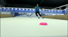 Ski simulator PROLESKI indoors - infinite slope ,