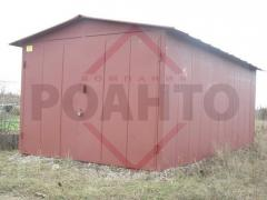 Garage from ferrous metal of 1,2 mm, only 18600