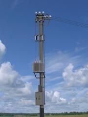 Complete transformer substation of stolbovy